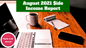 August Side Income 2021