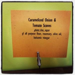 GF Caramelized Onion & Tomato Scones | Freshly Grown