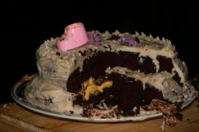 GIrl cake!