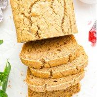 Super Easy Paleo Bread (nut free, dairy free)