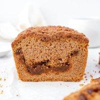 Caramel Swirl Streusel Bread (grain free & dairy free)