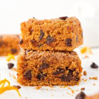Orange Chocolate Chip Coffee Cake (paleo & nut-free)