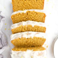 Meyer Lemon Pound Cake (paleo)