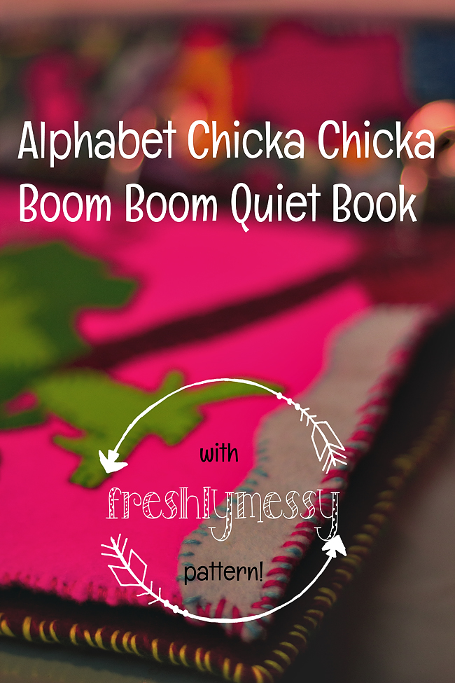 c is for chicka chicka quiet book 3