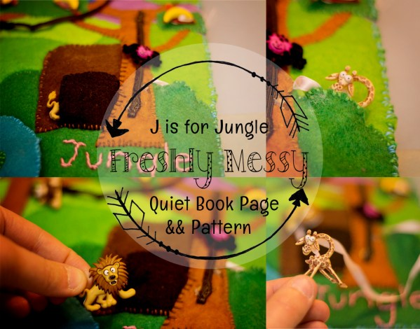 j is for jungle quiet book 6