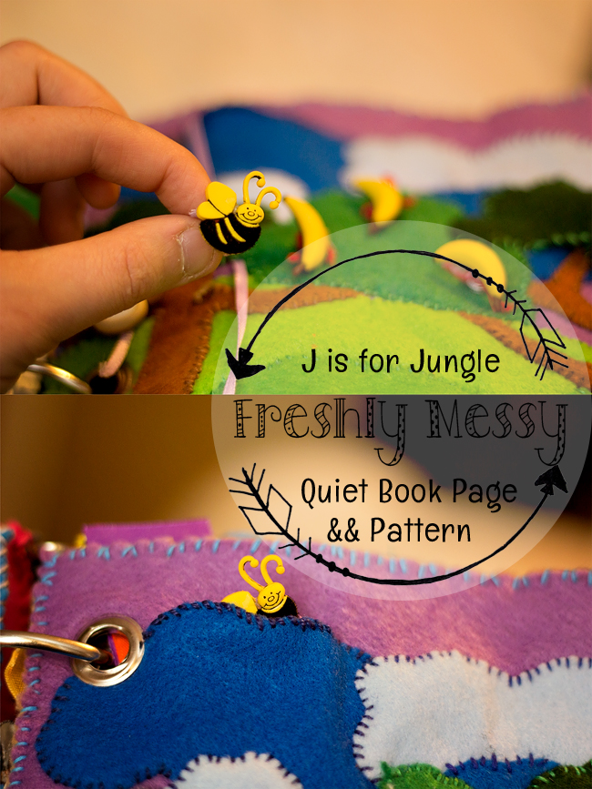 j is for jungle quiet book 9