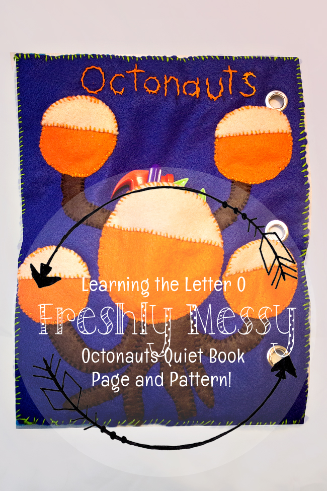o is for octonauts quiet book 1