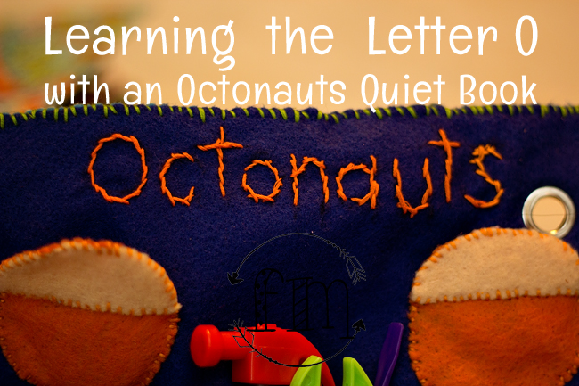 o is for octonauts quiet book 4