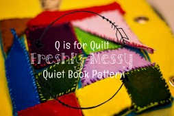 q is for quilt quiet book 5
