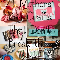 24 Mothers Day Crafts