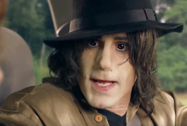 Look Upon The First Image of Joseph Fiennes as Michael Jackson, and Despair
