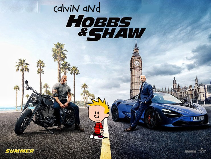 Calvin and Hobbs and Shaw