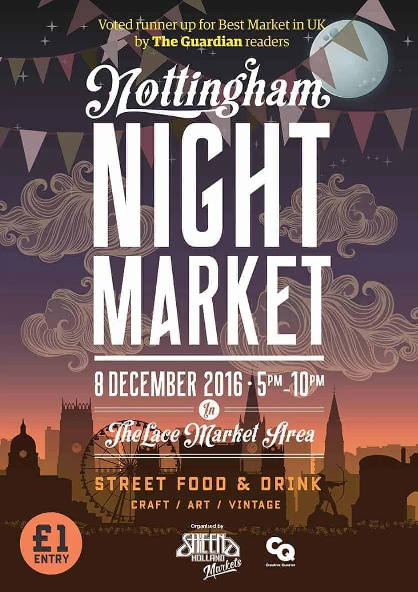 Nottingham Christmas Night Market