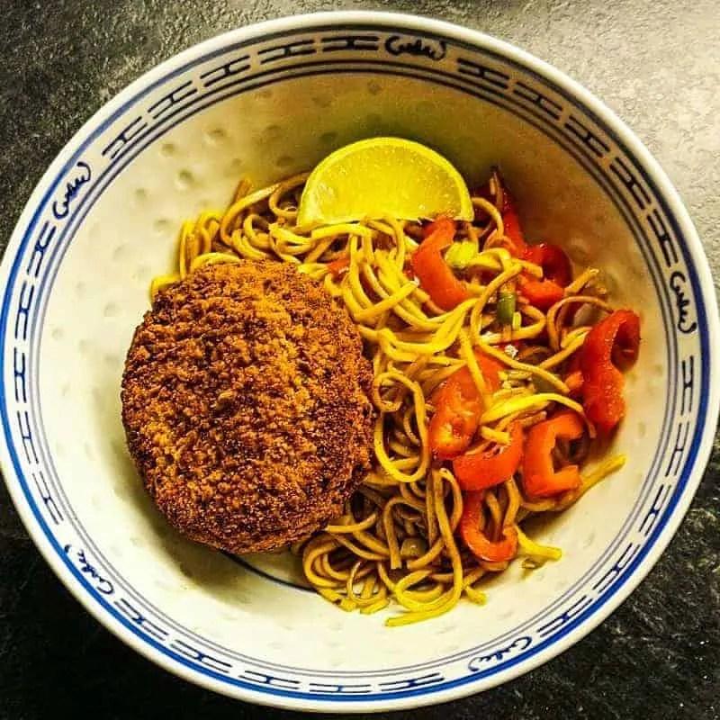 Spiced Salmon and Sweet Potato Fishcake Recipe (Prawn Spaghetti Blend)