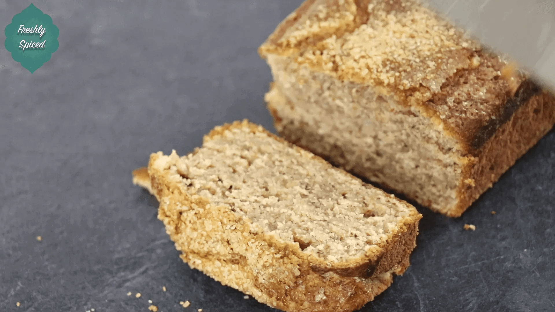 Banana Loaf Video Recipe (Sweet Spice Blend)