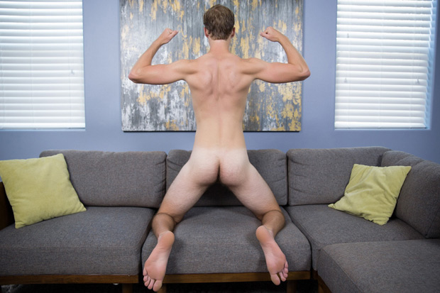 Naked College Stud