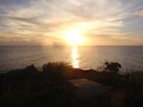 Sunset over Caracas Bay