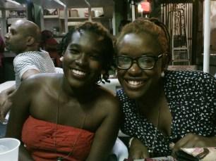 Versia Harris and Sheena Rose