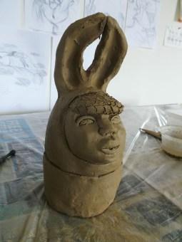 Cherise Ward's work in progress