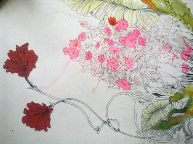 Simone Asia's work in progress