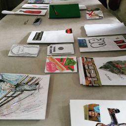 Results of a zine making workshop with Rayanne Bushell
