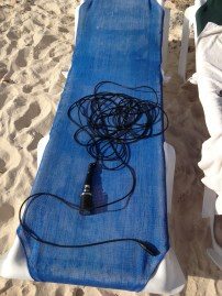 Hydrophone drying after underwater recordings