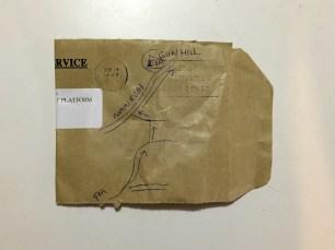 Annalee's map to Gun Hill