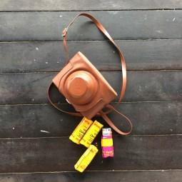 Analogue camera and film