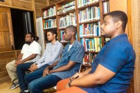 Some members of the Beyond Publishing Caribbean Team: Alan Lynch, Matthew Clarke, Delvin Howell and Tristan Roach.