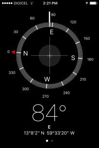 Compass location