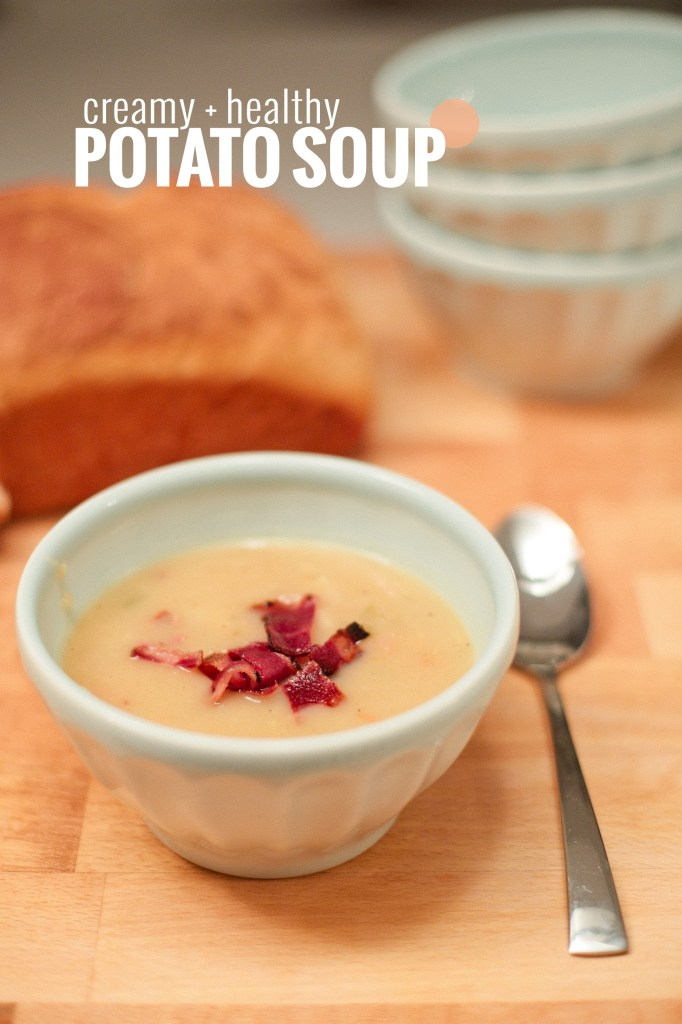 Creamy non-dairy potato soup