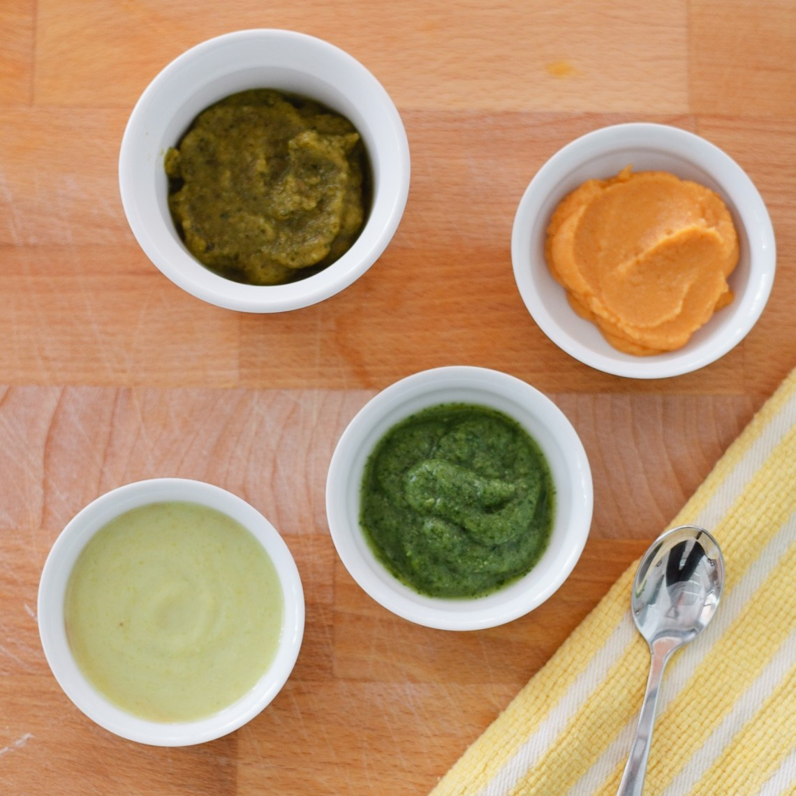 Eats homemade baby food fresh mommy blog a delicious selection of baby food recipes 1 sweet potato with apple and cinnamon 2 spinach pear and pea 3 banana avocado pineapple and yogurt forumfinder Images