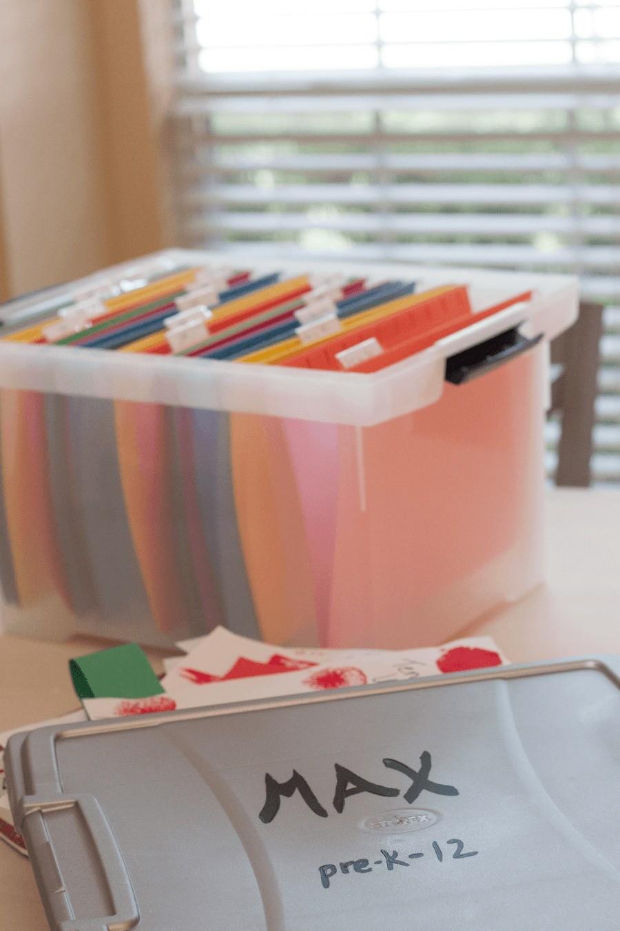 School Memories Storage by Fresh Mommy Blog