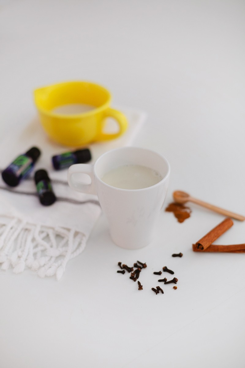 Use pure essential oils to make a delicious and healthy chai tea that will boost your immune system!