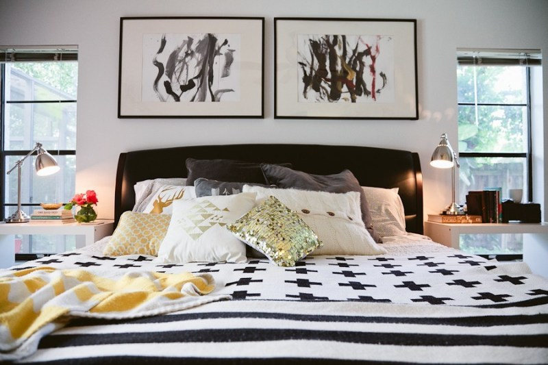 5 Tips to Cozy Up a Rental Space | Bedroom Makeover on Fresh Mommy Blog-10