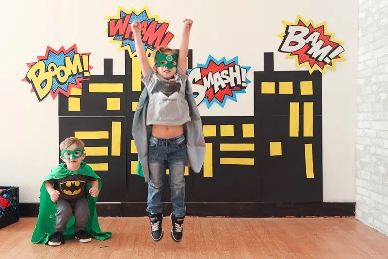 Six and A Lego Superhero Party | Fresh Mommy Blog