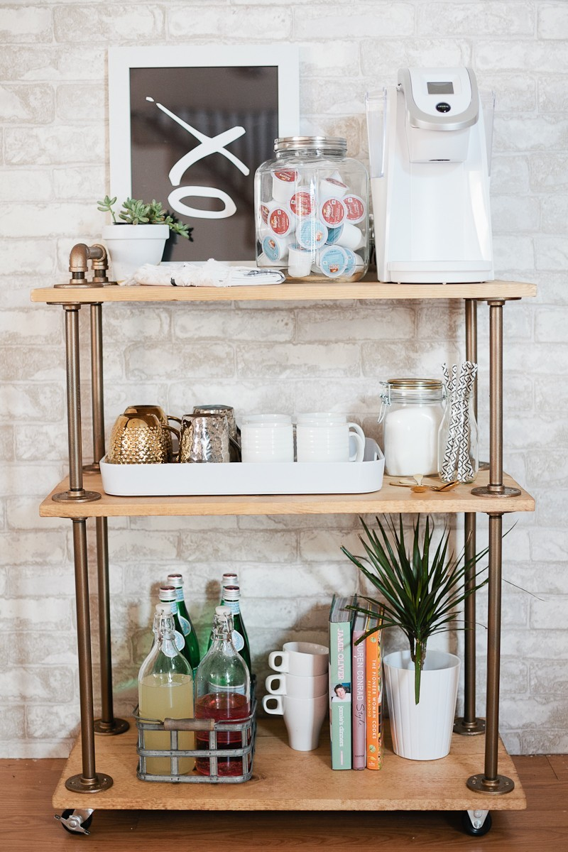 diy coffee bar cart fresh mommy blog fresh mommy blog