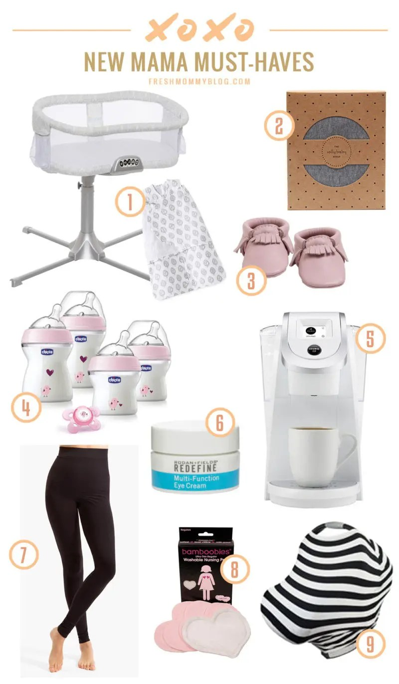 Our list of New Mama Must-Haves and Giveaways!