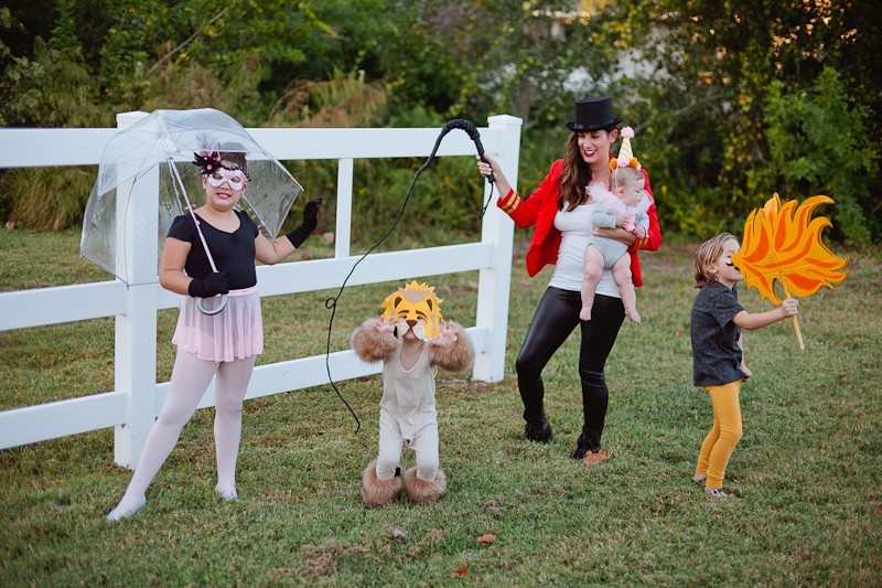A DIY Circus Family Costume