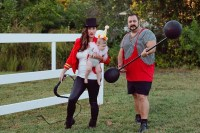 A DIY Circus Family Costume | Fresh Mommy Blog