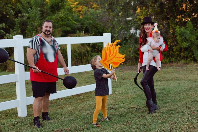 A DIY Circus Family Costume - Fresh Mommy Blog : Fresh ...
