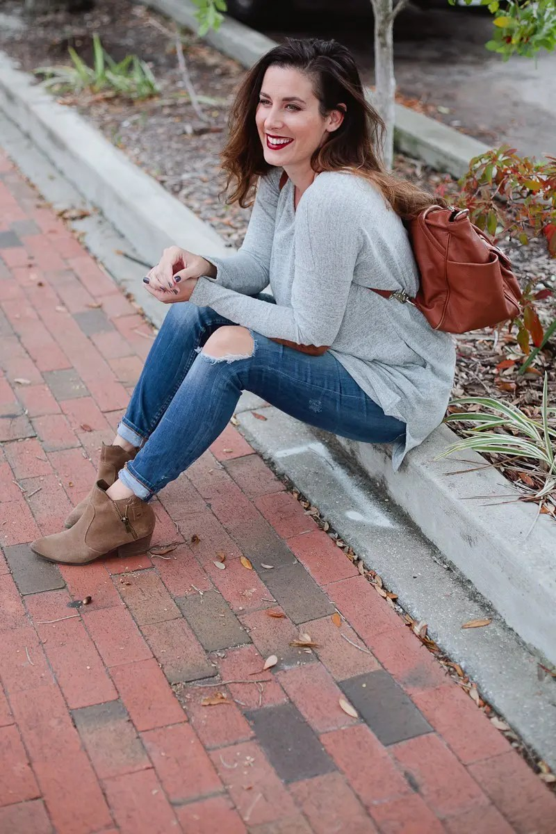 Get Ready With Me - A Fresh Fall Look from start to finish with Tabitha Blue of Fresh Mommy Blog!
