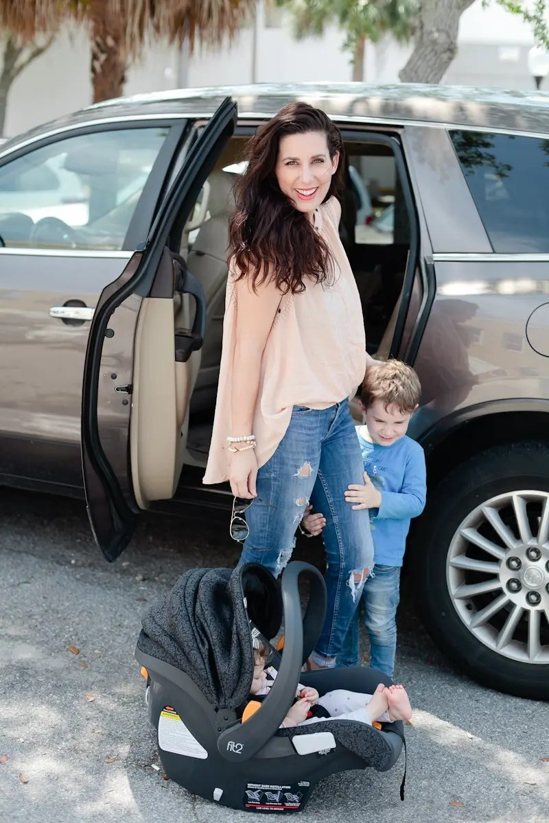 We've been traveling with our wee ones since our oldest was a newborn, and today I'm sharing a few of our learned lessons and tips to travel safe as a family!