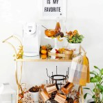 How To Set Up A Fall Coffee Bar Cart 2 Fall Coffee Recipes Fresh Mommy Blog