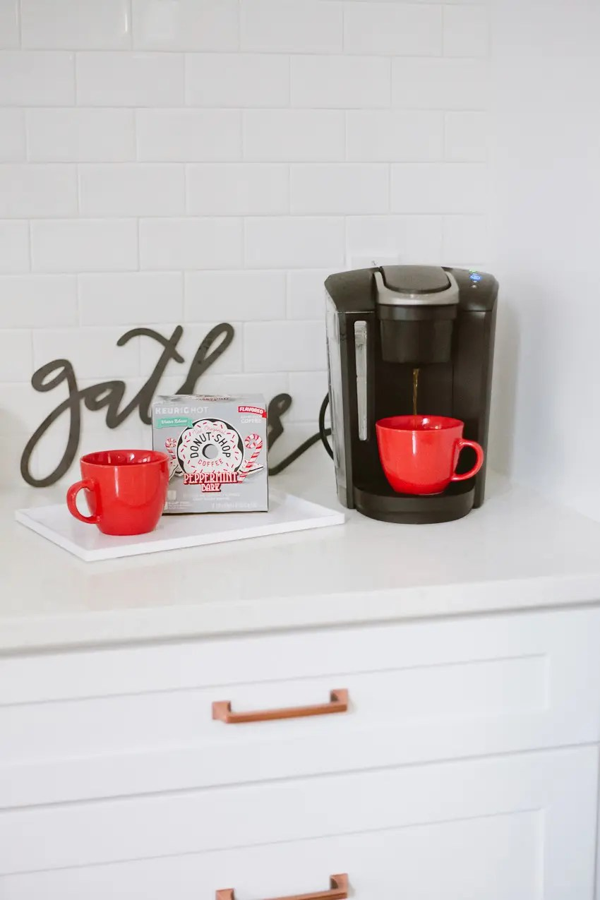 The ultimate gift guide for the coffee lover and The new Keurig® K-Select™ Coffee Maker (with Strong Brew button for a more intense cup!)