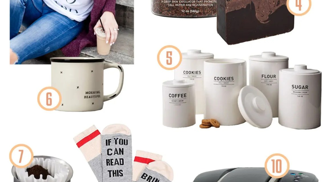 New and updated gift guide for the coffee lover!!!