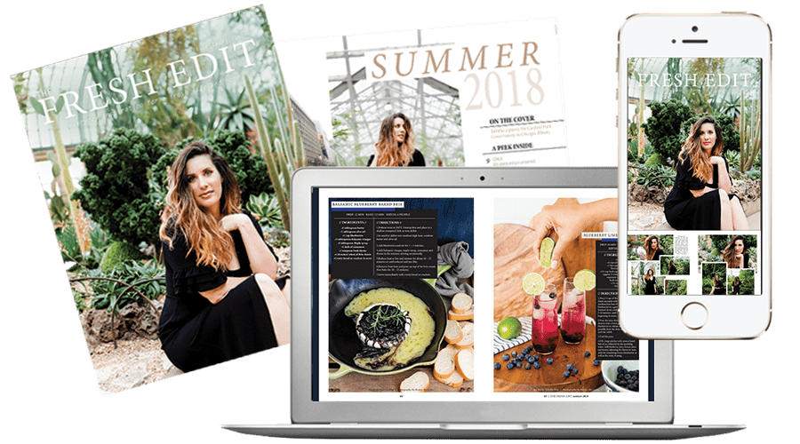 The Fresh Edit Lifestyle Magazine Volume 2: Summer 2018