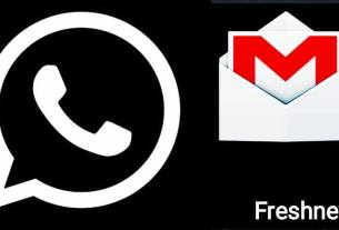 Dark Mode Feature Update Soon In Whatsapp and G-mail News Bog. image via fresh news india.