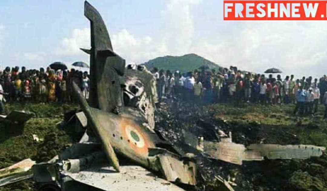 पाकिस्तान ने कबूला कहा बडगाम में विमान क्रैश हुआ,हमने नही गिराया.