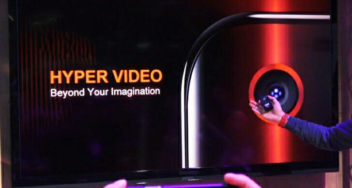 Lenovo Z6 Pro mobile phone, hyper videos, photo, image